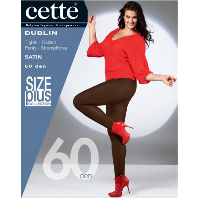 Cette Dublin Size Plus Panty- Dark Brown