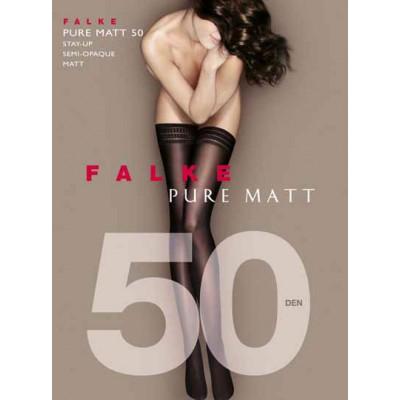 Falke Pure Matt 50 Stay ups