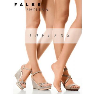 Falke Shelina 12den Toeless tights with loop - Teenloze panty met lusje