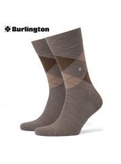 Burlington Edinburgh Sokken Dark Blue