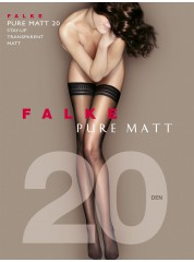Falke Pure Matt 20 Stay ups