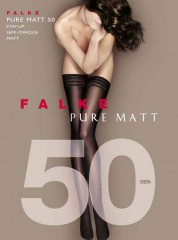 Falke Pure Matt 50 Stay ups