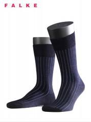 Falke Shadow Cotton Sokken Marine/Blauw