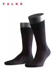 Falke Shadow Wool Sokken Zwart/Rood