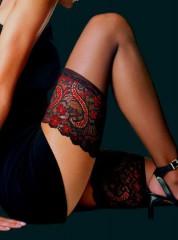 Le Bourget Bas Top Essentiel Noir/Rouge
