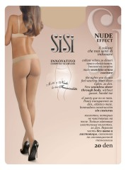 SiSi Nude Effect Panty Seamless tights