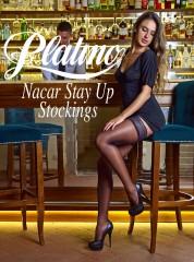Platino Nacar 15 Stay ups