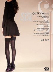 SiSi Queen Microfibre Stay ups