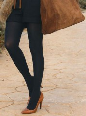 SISI Touch Effect 50 panty - tights - collants  BLU NAVY