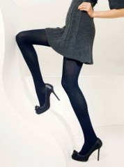 Trasparenze Cortina 100 DEN Tights - Panty - Collants BLU