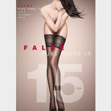 Falke Pure Shine 15 Stay ups