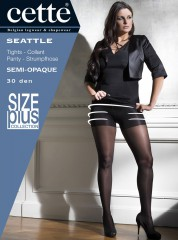 Cette Seattle Size Plus Panty tights pantyhose collants