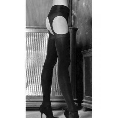 8e78c1061 Trasparenze Cortina Suspender Tights Silk in a Box