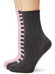 Hudson 3pack Rose Fashion Socks