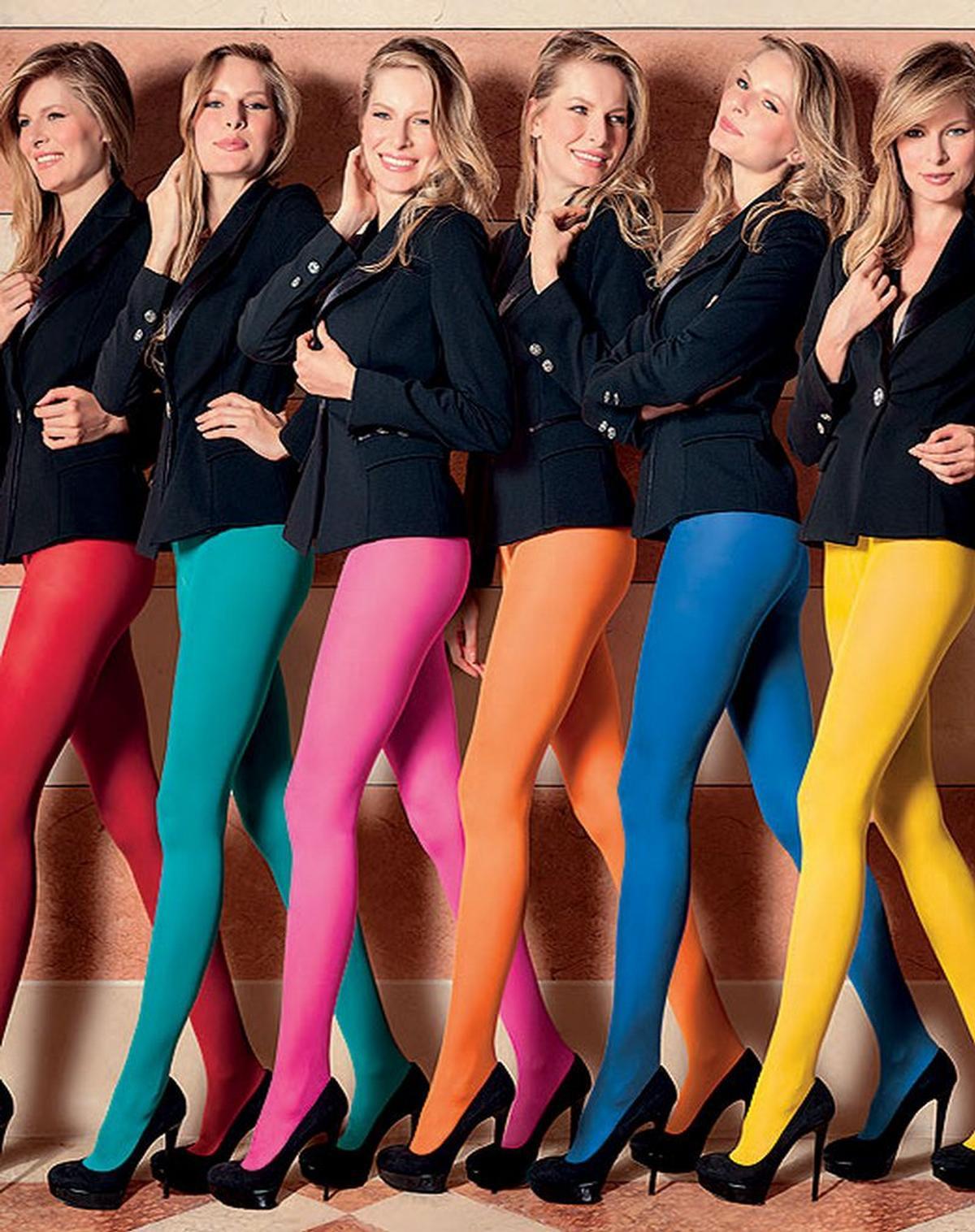 Effen kleuren - kousen en panty's